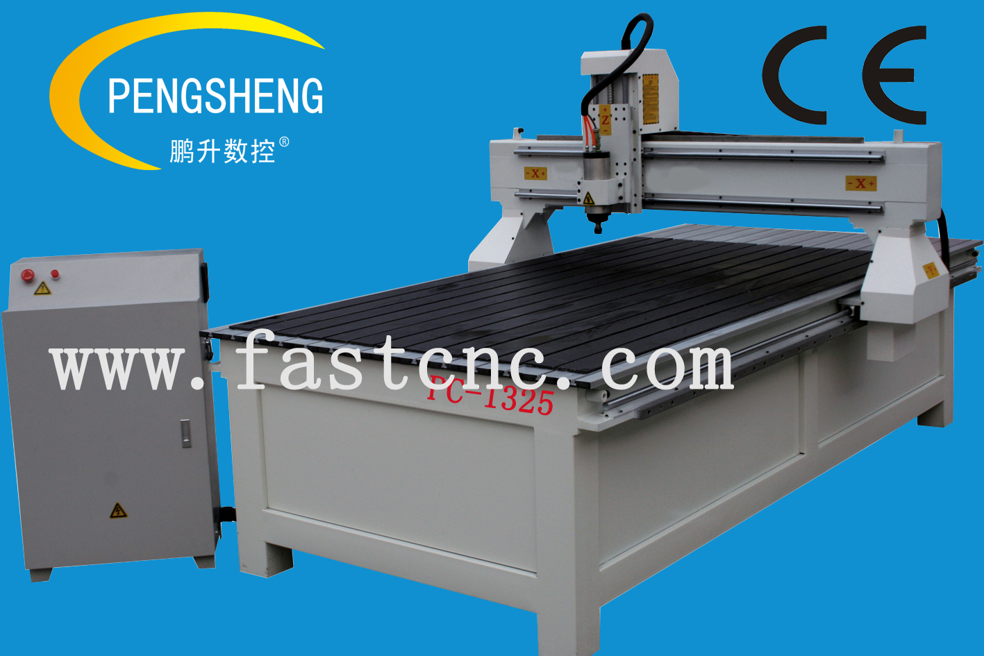 Hot sale!!!! advertising cnc router PC-1325 C type