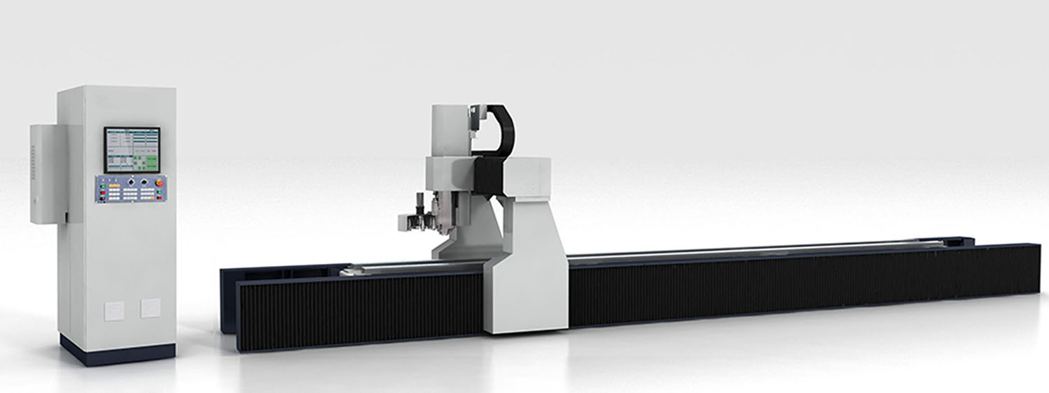<b>4 axis cnc profile machining center</b>