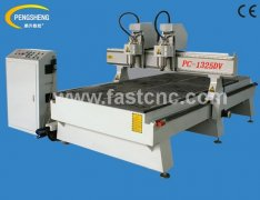 double heads cnc router PC-1325DV