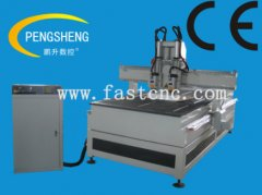 Double heads cnc router