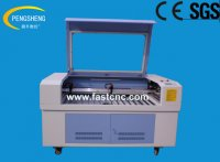 double heads CO2 laser engraving and cutting machine